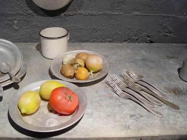 צילום צלחת עגבנייה ותפוח אדם