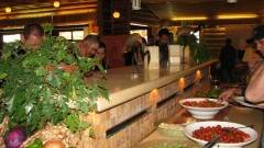 שולחן במסעדה