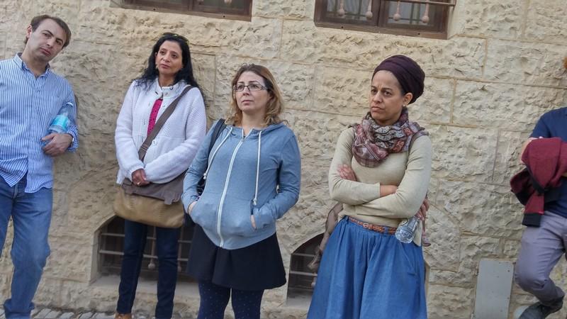 עובדי חברת גמידה סל ביום גיבוש וכיף בירושלים