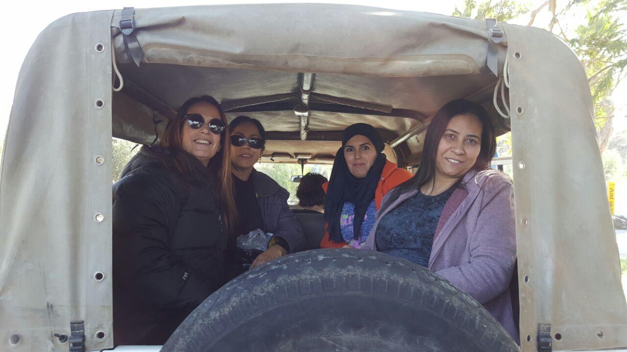 עובדי בית המשפחה בטיול ביחיעם